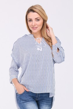 Grande blouse rayures