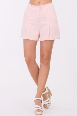 Short taille haute 2 poches