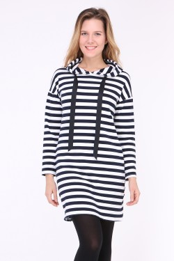 Pull long bicolore alice