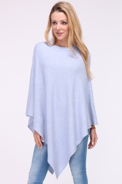 Poncho maille