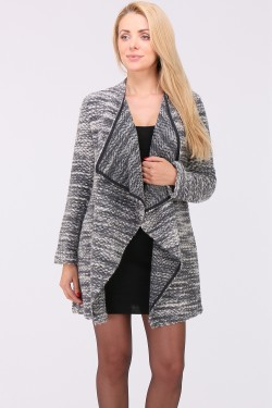 Gilet grosse maille