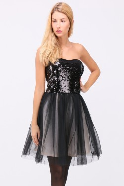 Robe paillettes