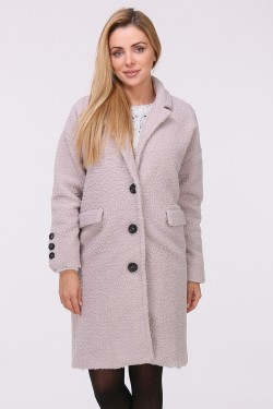 Manteau imitation mouton