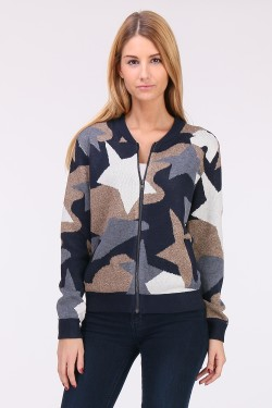 Bomber maille