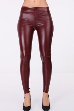 Legging imitation cuir