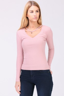 Top collier fantaisie