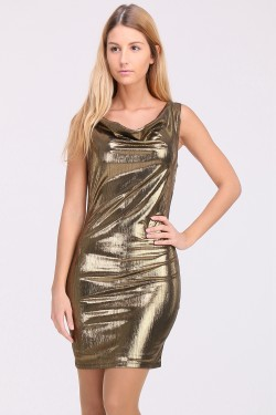 Robe brillante