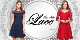 The chic of lace