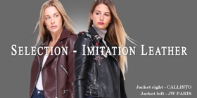 A classic: the leatherette
