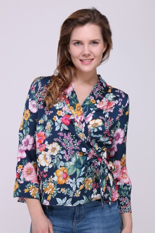 Blouse printed  nouer