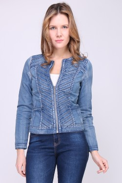 Veste denim en jean