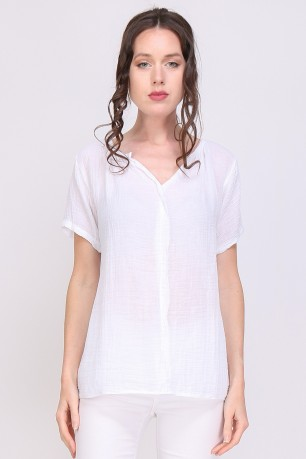 Blouse gaze de coton