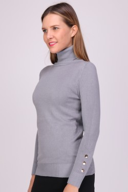Pull classic col roule
