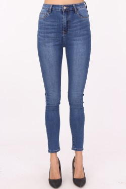 Jeans skinny height-waisted
