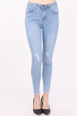 Jean ripped