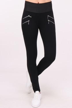 Pantalon gainant 4 zips