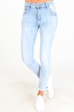 Jeans with noeud  cotton
