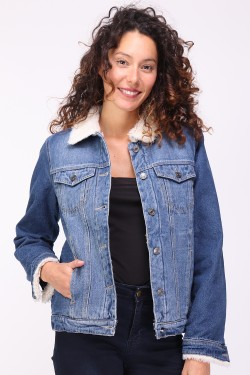 Jacket jeans doublee moumouth