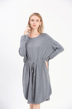 Pull robe grande taille avec 2poches
