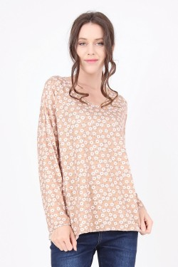 Jumpers fin  camomille