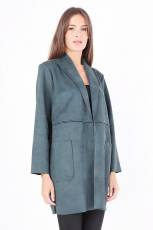 Jacket blazer long with poches