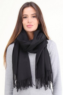 Scarf  wool mixed