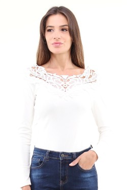 Body with lace  cotton