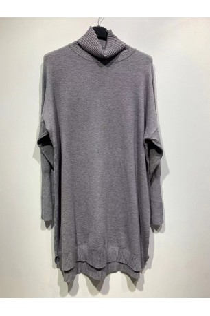 PULL COL ROULE OVERSIZE
