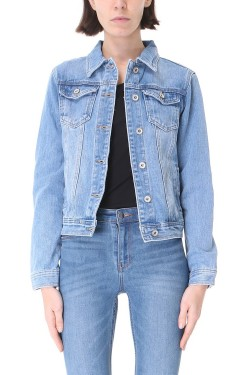 veste jeans non stretch