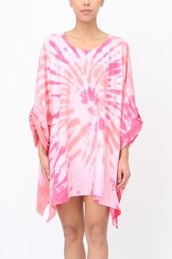 Tunic tie and dye  cotton