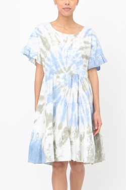 Dress tie and dye  cotton