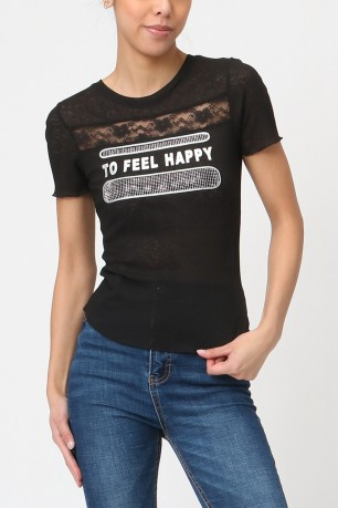 T-shirt to feel happy