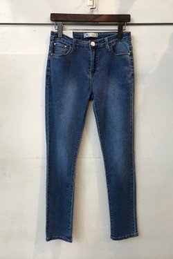 Straight fit basic jeans