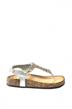 Sandales with strass