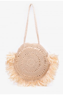 CL17102 Sac  main style paille