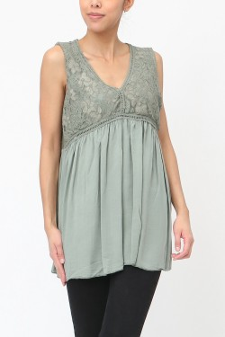 Tank top  lace 40/42