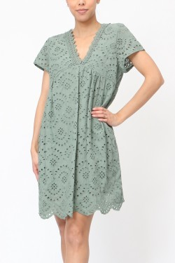 Dress  lace perforé