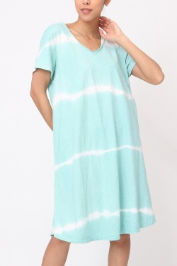 Dress tie&dye  cotton