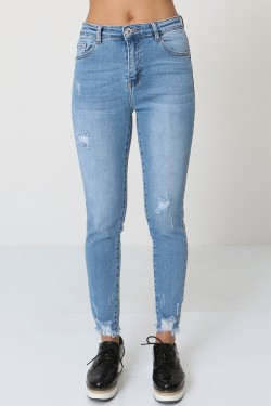 Ripped jeans 7/8