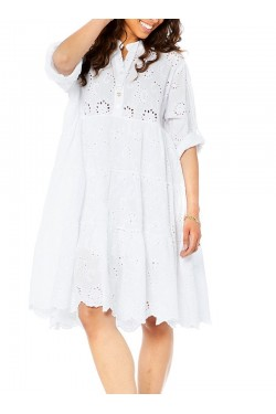Dress  embroidery cotton