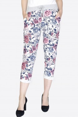 Dim-style jogging pants flower pattern summer spring 2021 REF MIMO PYJ