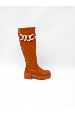 T25222 boot with chaine decoratif