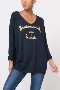 Jumper fin mademoiselle  trainers
