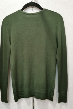 pull col rond strass