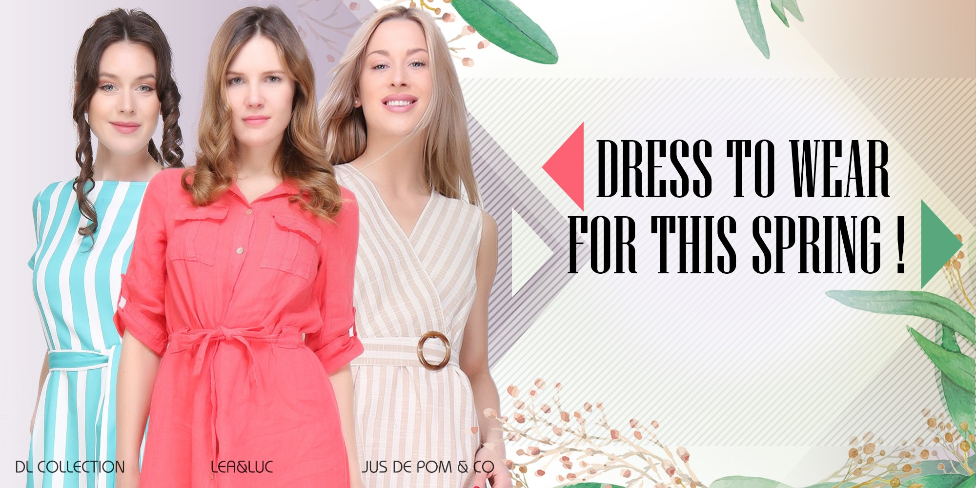 Dresse for this spring